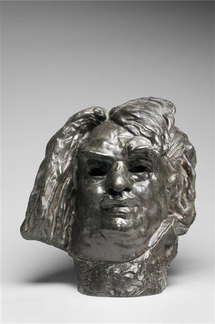 Colossal Head of Balzac