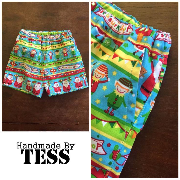 Handmade By Tess  Pattern Emporium Busy Boy Shorts
