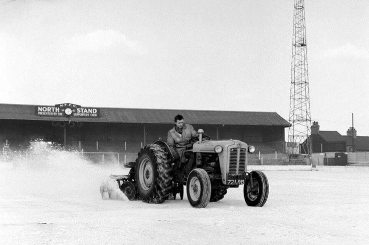 Field Mill, Mansfield Town FC. 1961.