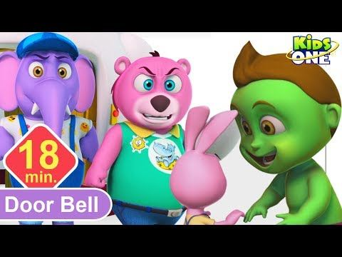 kids Rhymes Who Pressed the Doorbell BABY HULK Vs ANIMALS Fu.  sc 1 st  Pinterest & The 1749 best animated 3D Rhymes images on Pinterest | Kids rhymes ...