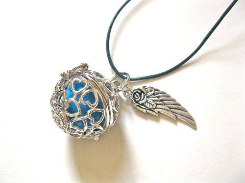 Angel  harmony ball pendant ~ llamador de ángeles, £15.25