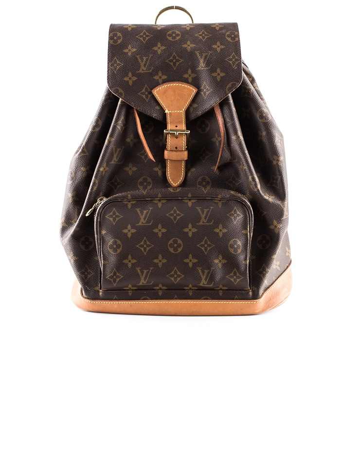 "Still up for grabs: Louis Vuitton Backpack. Obsess over it now in our ""Select Handbags"" sale. (TheRealReal.com)"