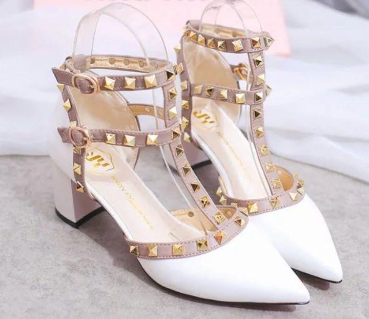 trivet strappy sandals nlock heel size