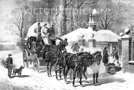 Christmas Stagecoach