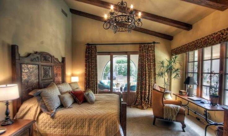 Camera da letto toscana.