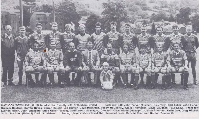 Matlock Town 1991-1992