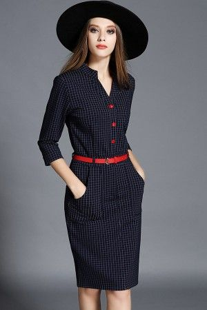 Dark Blue Plaid V Neck Bodycon Casual Dress @ Casual Dresses,Women Casual Dresses,Cheap Casual Dresses,Cute Casual Dresses,Casual Dresses for Juniors,Womens Casual Dresses,Casual Summer Dresses,Casual Maxi Dresses,Long Casual Dresses,Short Casual Dresses,White Casual Dresses,Sexy Casual Dresses