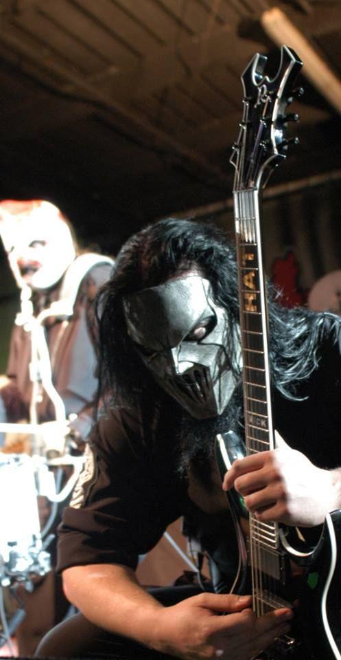 Mick Thomson & Shawn 'Clown' Crahan (Slipknot)