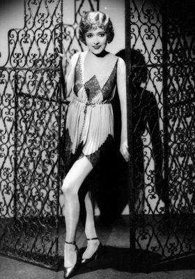 in the 20's fashion changed rapidly by women showing their legs and allowing to cut their hair.