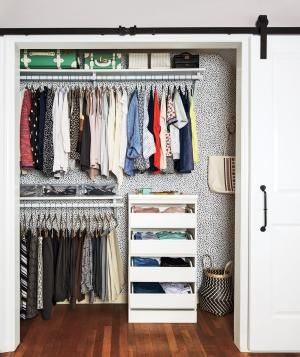 One Way to Make Your Bedroom Closet Feel Bigger, Neater, and All-Around Better