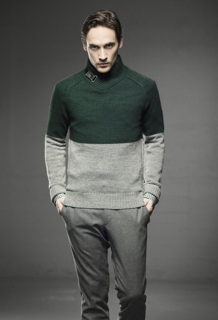 Lewis sweater (baby alpaca wool blend), Joyce suit pant. In stores in August 2013.