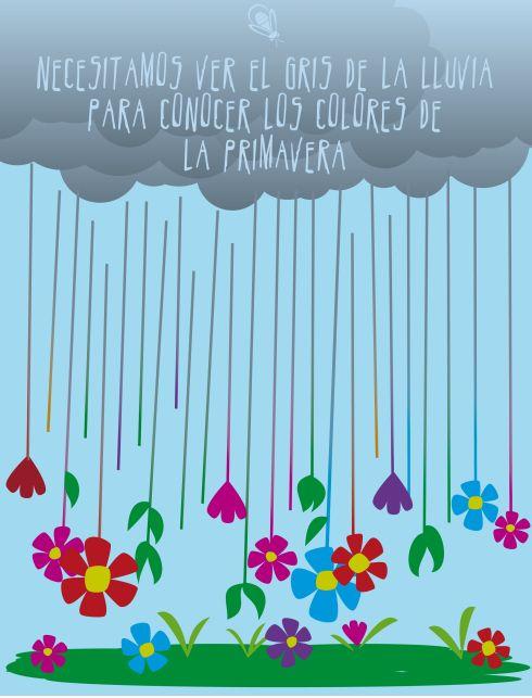 ¡Tranquilas! ¡¡¡No hay primavera sin lluvia!!! www.miramami.com