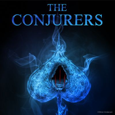 "The Conjurers by Brian Anderson. The comic is a companion to the upcoming novel, ""The Conjurers"". It is a chance to tell tales about a variety of characters from the novel. It will also include origin stories of the Conjurian, the secret, hidden realm of magicians."