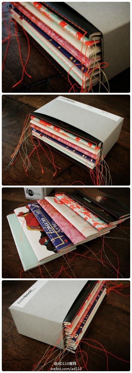 Notebook design, verpakking geproduceerd door de Imprimerie du Marais in Parijs voor de 40e verjaardag van het hotel