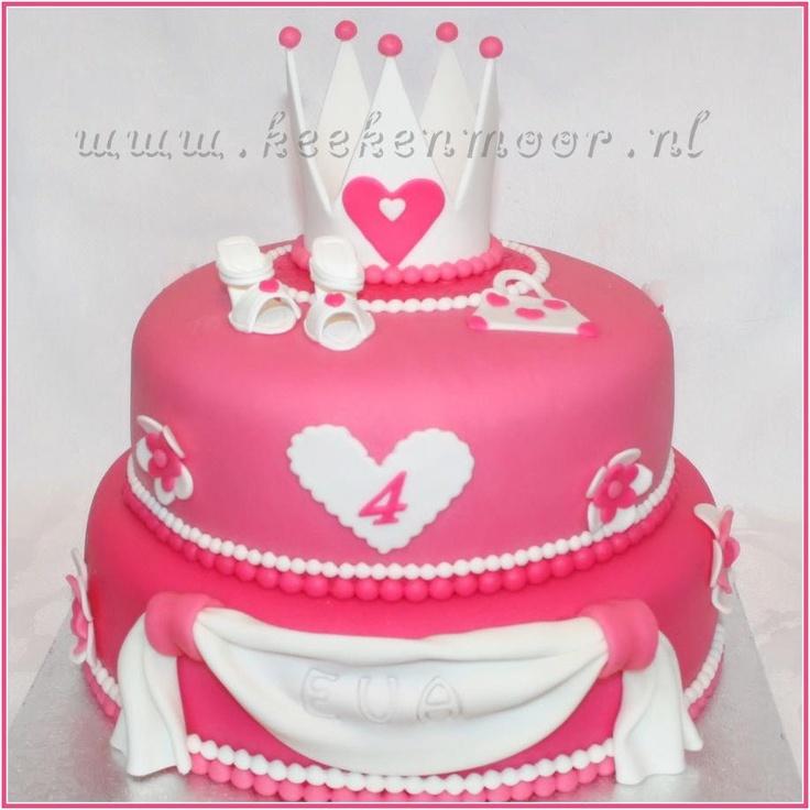 Prinsess cake made bij KeeKenMooR!