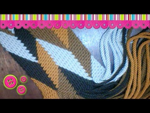 Wayuu strap pastel chevron pattern by jeed - YouTube