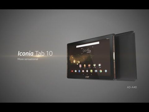 Acer launches new Iconia Tab 10 with MiraVision technology - Technology News And Information