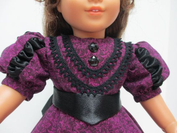 Late 1800's Fashion Coming Out Dress for by karenstinytreasures