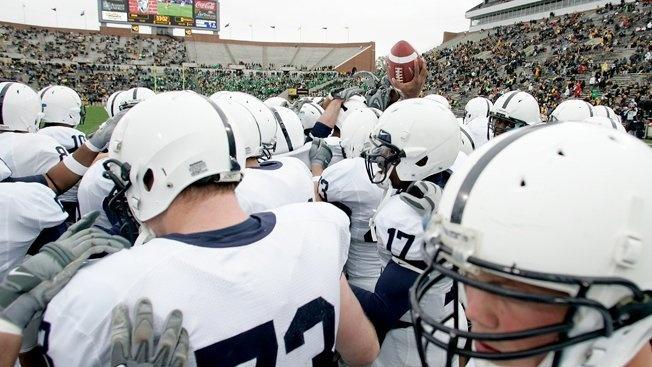 Mohegan Sun Won't Gamble on Penn State Football. Casino pulls ads from PSU's Beaver Stadium.
