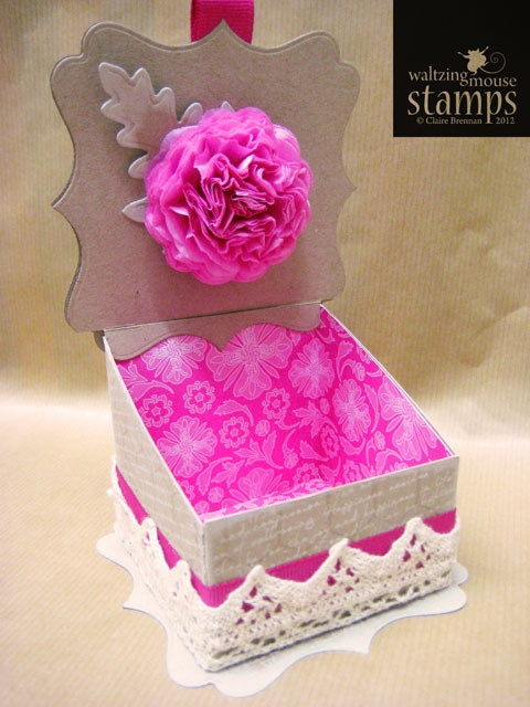 Free Box Template @waltzingmousestamps.com