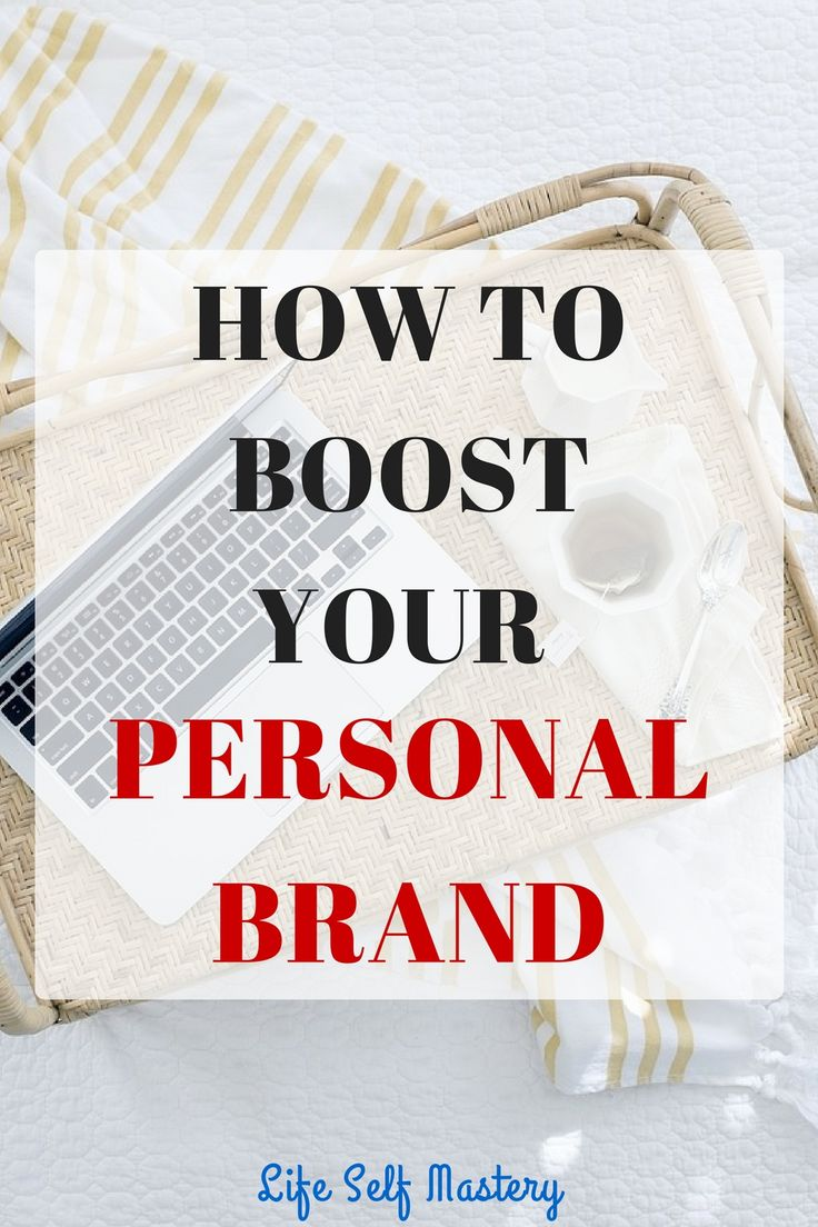 How to boost your personal brand and create your own niche.