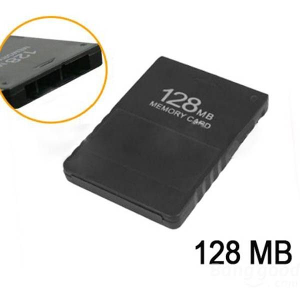 128MB Memory Card For Playstation 2 #ps2 Black