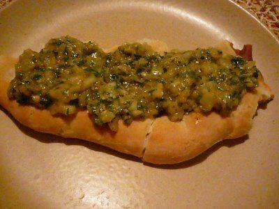 A közös konyha(kert): Cukkinipástétomos szendvics