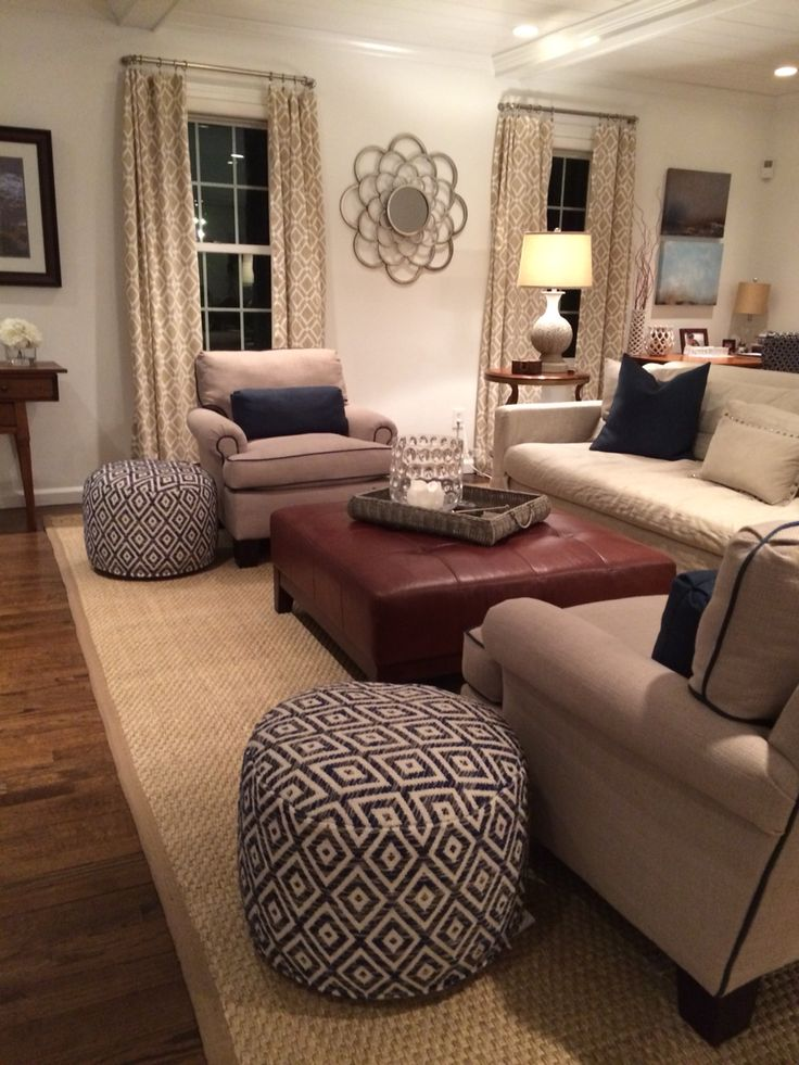 Best 25 navy family rooms ideas on pinterest blue yellow living room blue yellow rooms and for Seagrass living room furniture