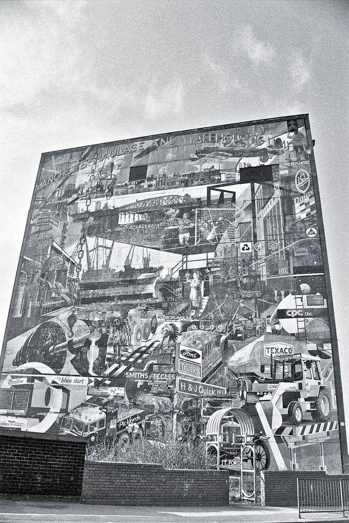 salford mural - Google Search