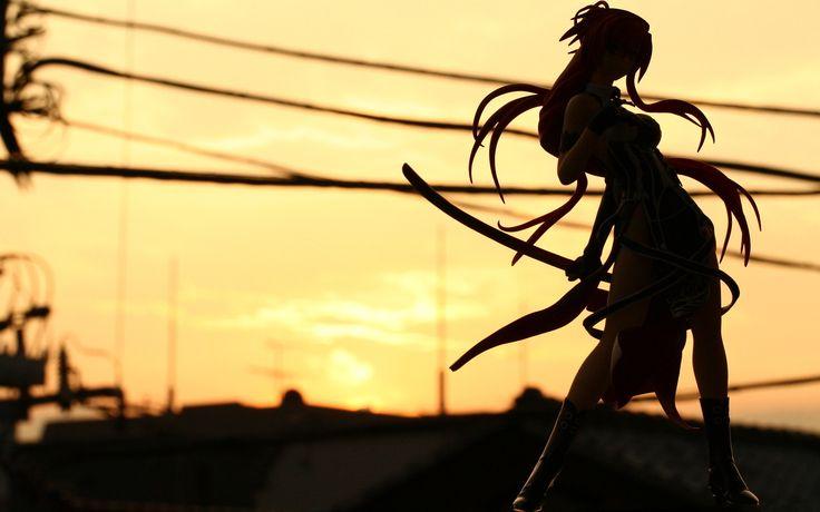shadow anime girl
