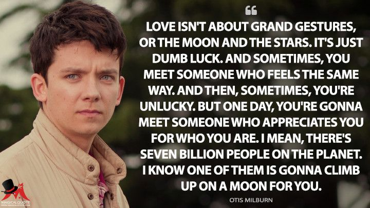 Love isn t about grand gestures or the moon and the stars
