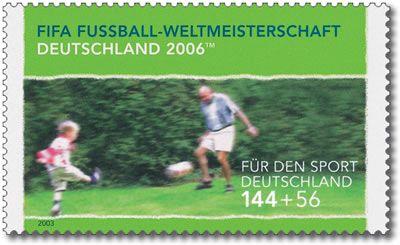 Stamp Germany 2003 MiNr2328 WM 2006 Jung und Alt.jpg