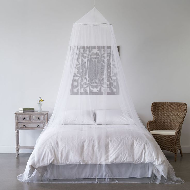 17 best ideas about canopy bed curtains on pinterest bed for Drape canopy over bed