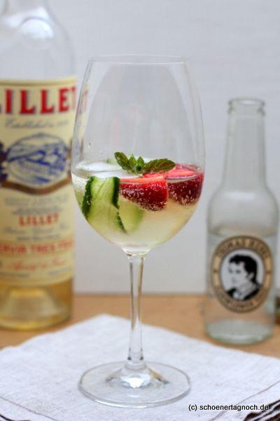 Der perfekte Sommerdrink: Lillet Vive - Schöner Tag noch! Food-Blog mit leckeren Rezepten für jeden Tag