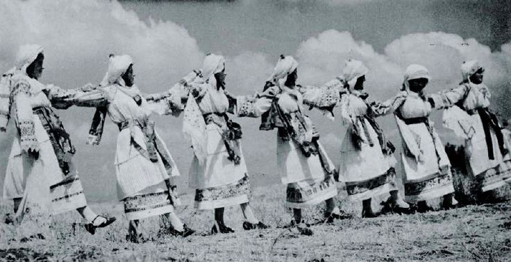 """""""Dancing in Chios"""" from Folk Music of Greece (published 1955)"""