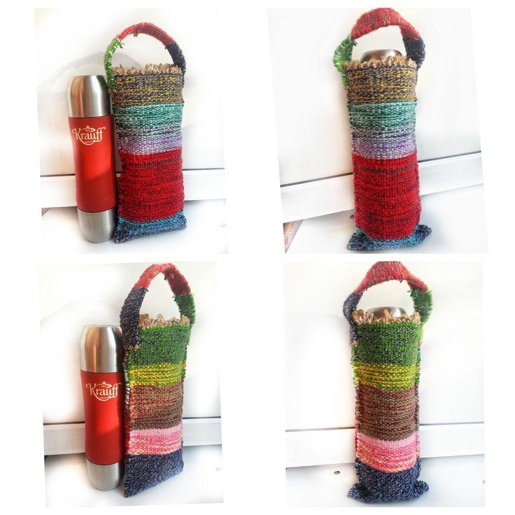 """Гобеленовый чехол 🌈""""Rainbow"""" 🌈 🔻Стильный футляр для хранения вашего термоса/бутылки 🔻 Материал : 💯% акрил 🔻 без ручки - (27 см.)/с ручкой - (37 см.) 🔻 Термос в таком чехле сохраняет определенную tº и при - и при + !!! 🔻 Только ручная стирка. (Лучше всего стирать мылом) ✌ 🔻 принимаю заказы, пишите в Direct ! ;) #handmade #termos #temperature #hot #cold #tapestry #tapestryart #handmade #handmadebymila #ручнаяработа #гобелен #чехолдлятермоса #термос #ручнаяработа #работаназаказ…"""