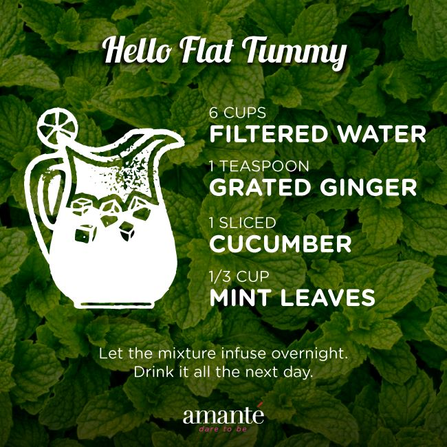 Want that enviable flat tummy? Then this is something that you must have every day.