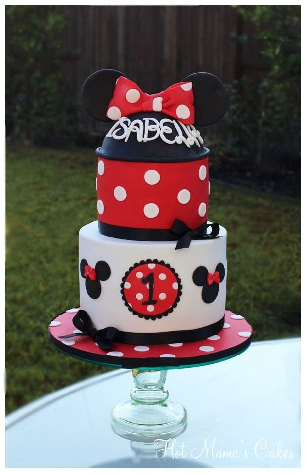 ... Mickey mouse birthday cake, Minnie mouse cake and Mickey mouse cake