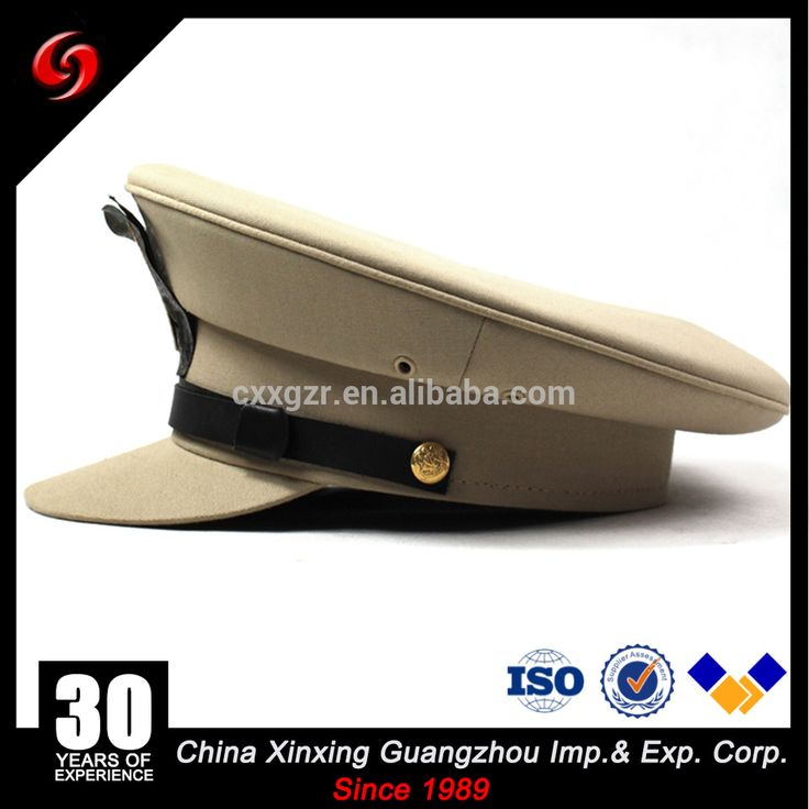 Middle East Military Police Officers Hands Embroidery Caps/ Military Peaked Cap
