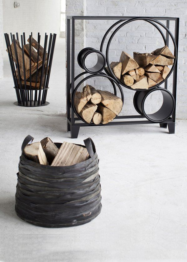 Collection de range buches chimney de serax, fireplace , cosy home