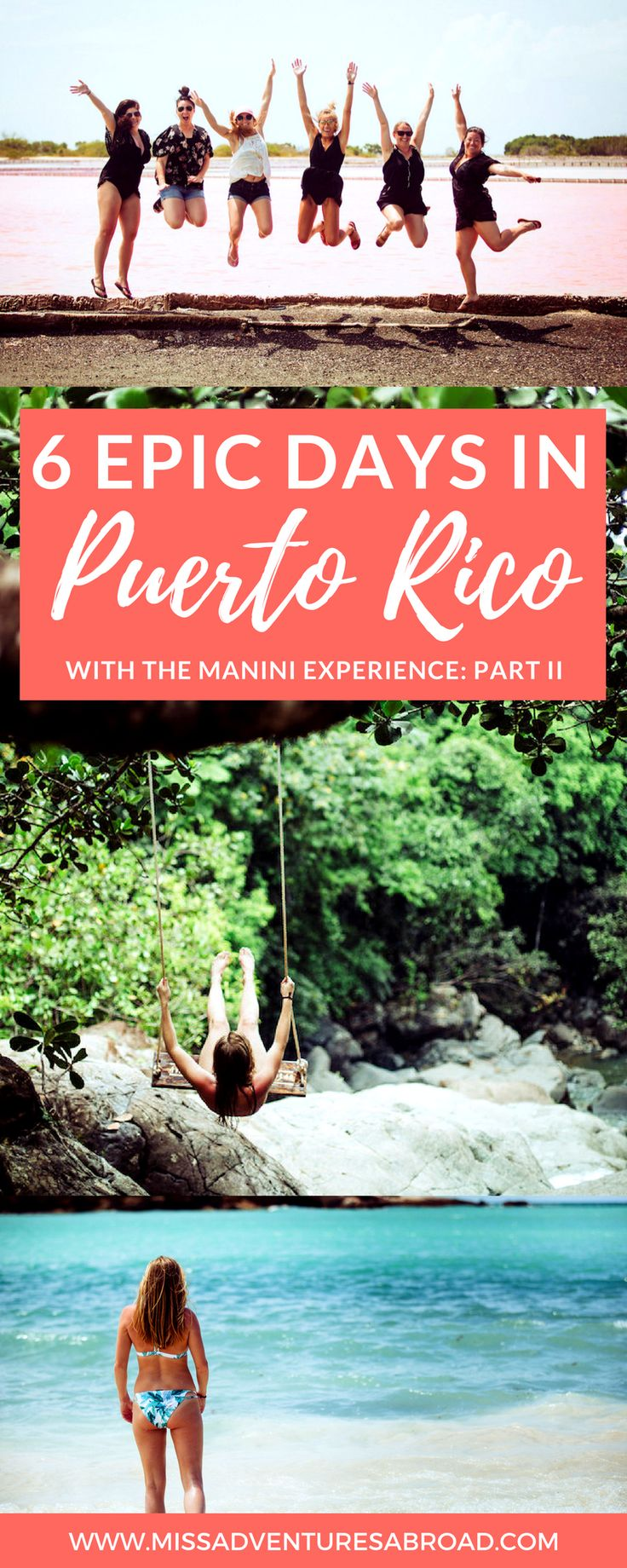6 Amazing Days In Puerto Rico With The Manini Experience: Part 2 · Discover off-the-beaten path Puerto Rico in 6 days! Incredible hidden waterfalls, the amazing El Yunque Rainforest, mangroves, beautiful beaches and more! Puerto Rico is the perfect island paradise for travelers looking for fun and adventure!