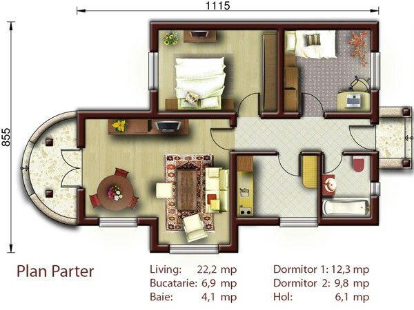 26 best H Floorplan - Nice images on Pinterest | House floor plans ...