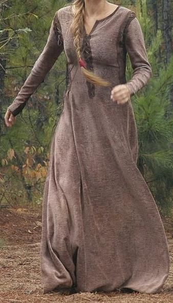 A viking dress found in a flashback scene from The Vampire Diaries