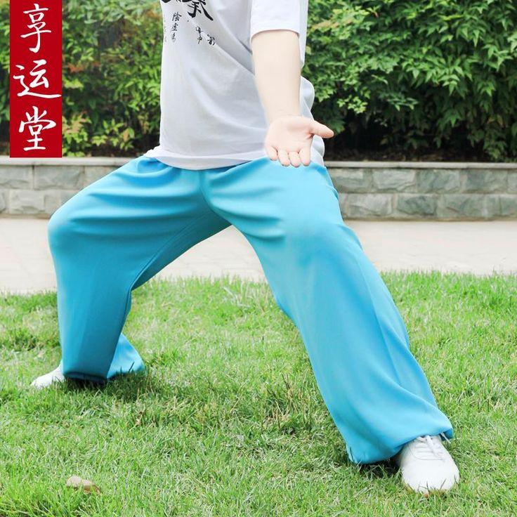 Ма тай-чи брюки для мужчин и женщин тренировки боевые искусства спектакли в тай-чи одежды новые продукты на продажа