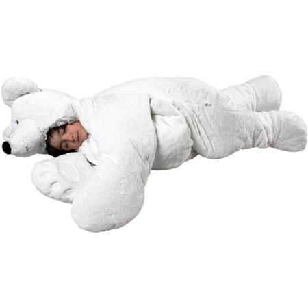 SnooZzoo Polar Bear Sleeping Bag, Large - Walmart.com