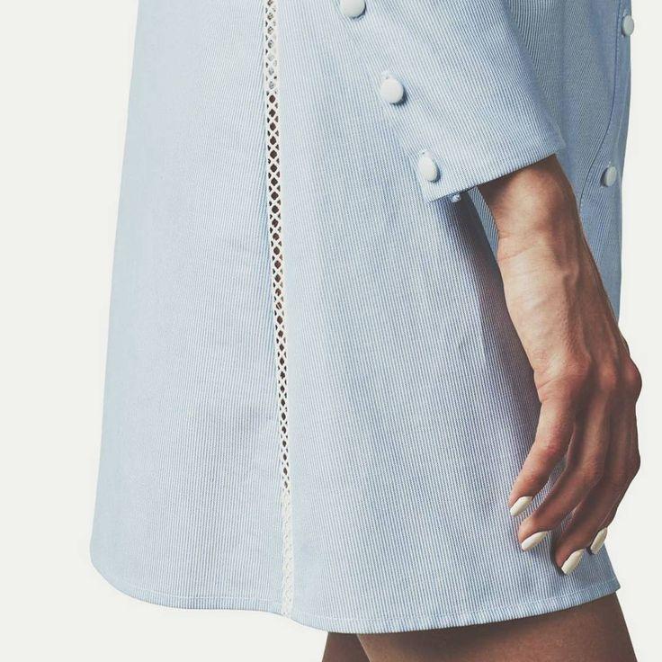Serenity Details #maisonraquette #raquette #brand #outfit #blue #serenity