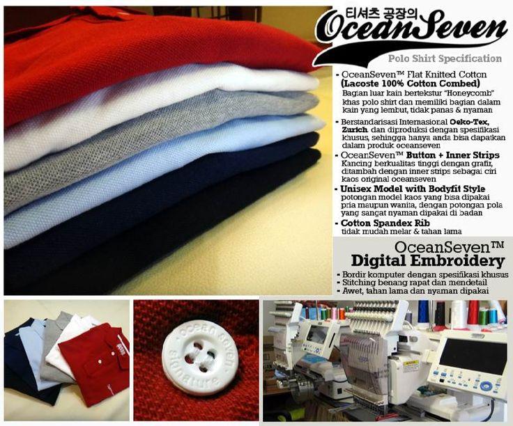 QUALITY @ Ocean Seven T-Shirt FactoryOcean Seven T-Shirt Factory