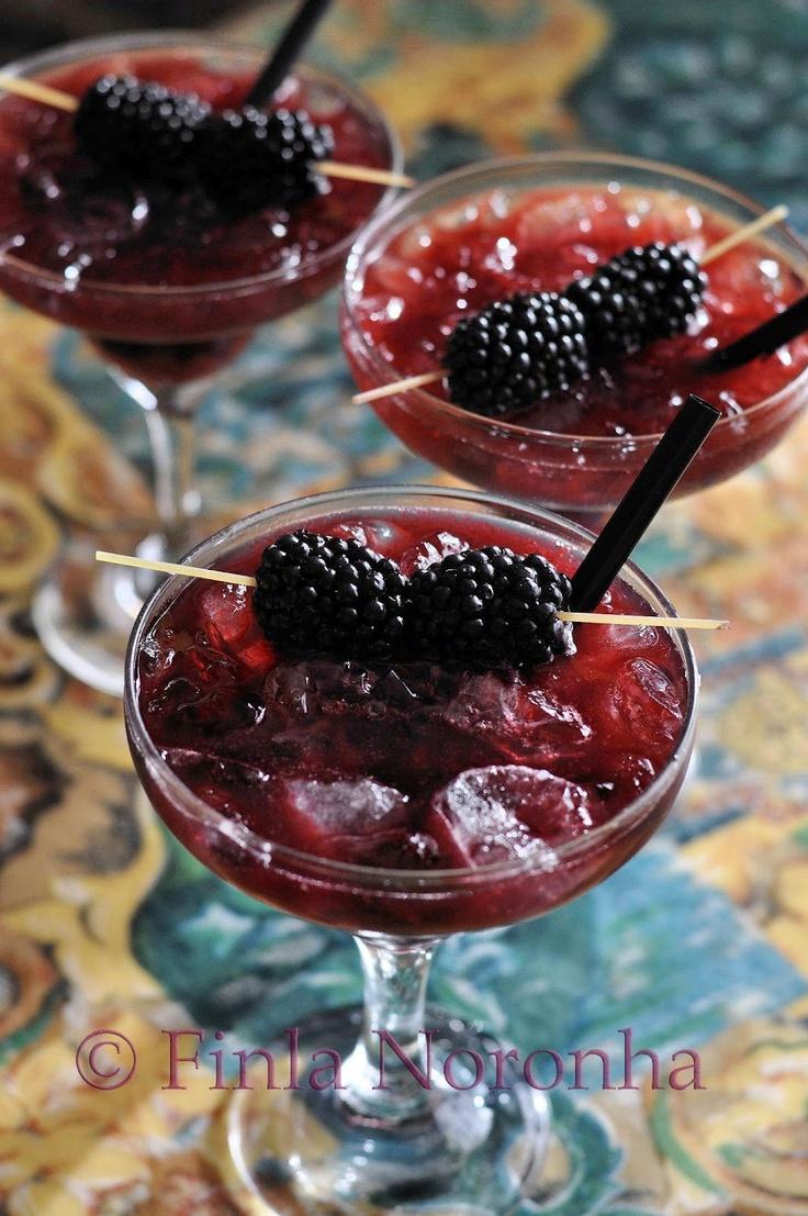 Black Berry Margarita....I am actually salivating!