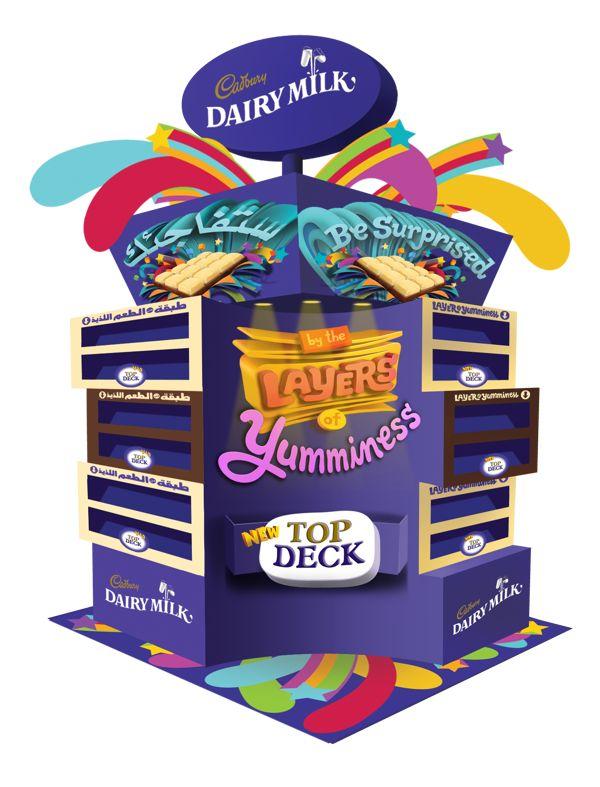Cadburys Top Deck POSM on Behance