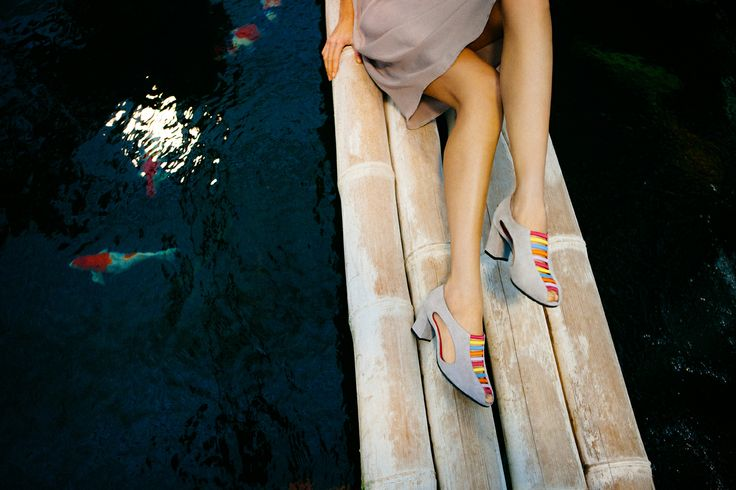 Beautiful SS14 suede sandal